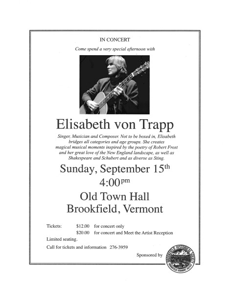 Elisabeth von Trapp poster