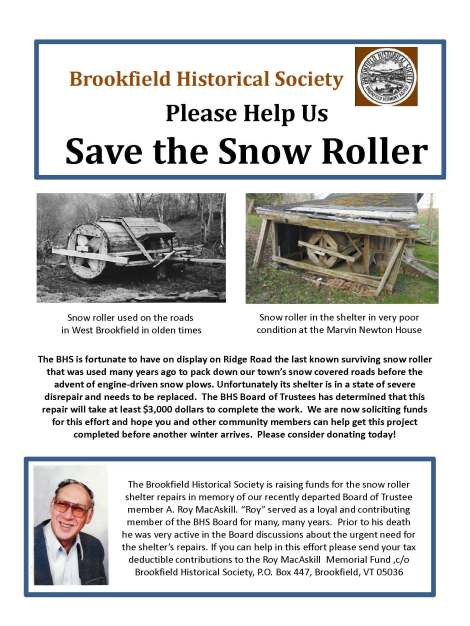 Flyer - Save the Snow Roller