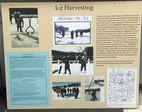 Ice Harvesting display