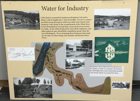 Water for Industry display