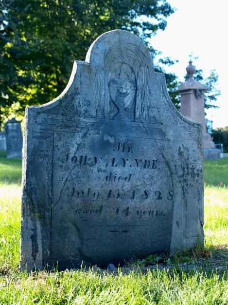 John Lynde Headstone
