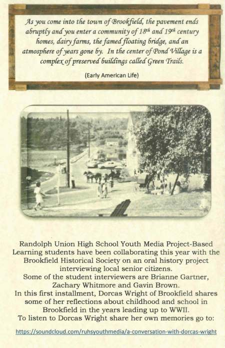 Oral History Event Brochure April 2018 page 4