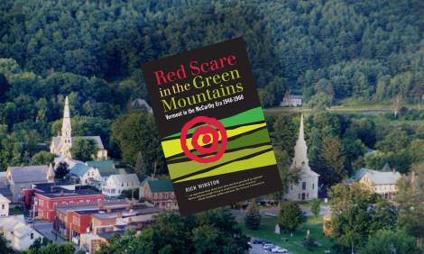 Red Scare in the Green Mountains site header and bookcover